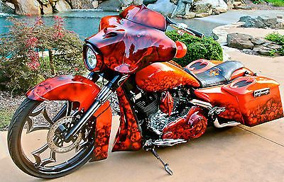 Now here's a beauty.  This is a Custom Harley Davidson Street Glide. #www.nycfitnessfamilyfinds.net