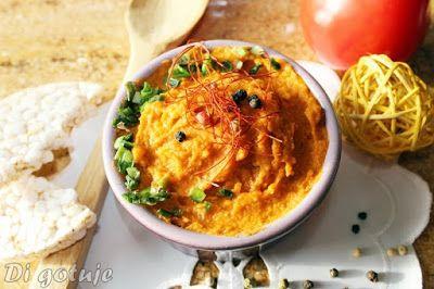 Di gotuje: Pasta z ciecierzycy, jajek i suszonych pomidorów
