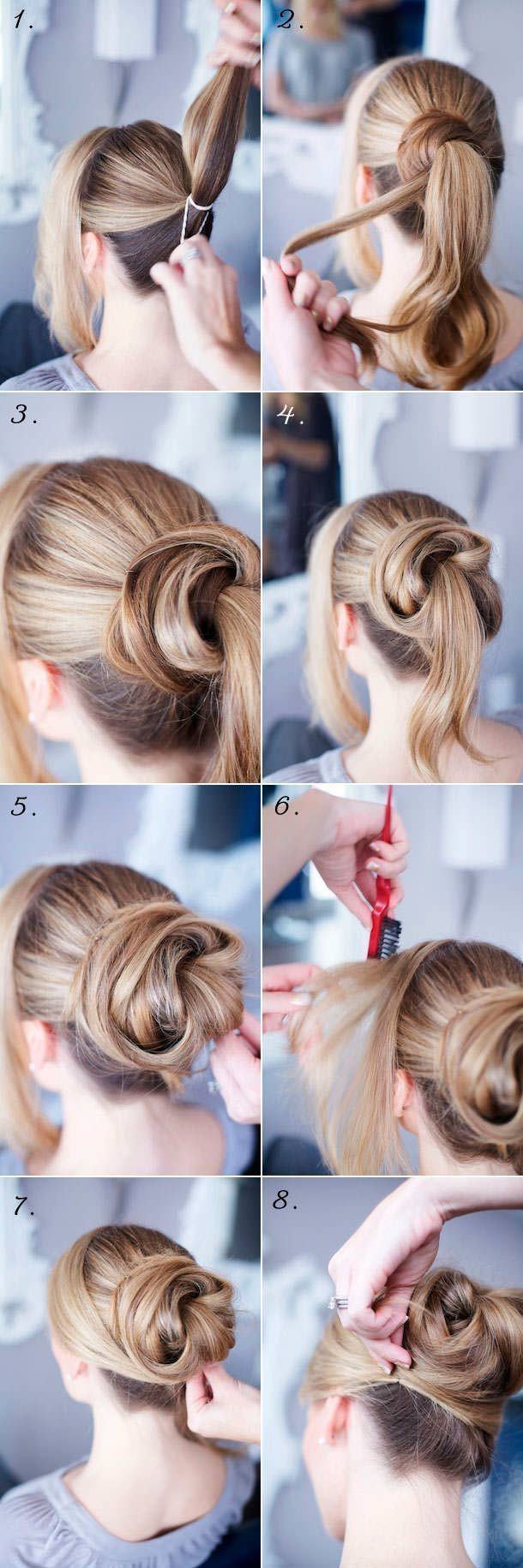 How to: Je haar opsteken 1