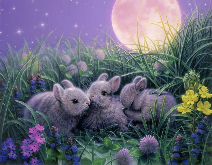 северо-западе кролики фэнтези картинки возведено высоком
