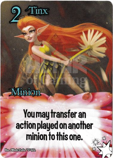 Tinx - Fairies - Smash Up Card | Altar of Gaming