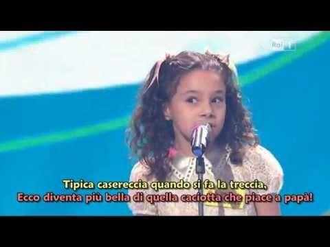 La Tarantella della Mozzarella - Lo Zecchino d'Oro 2012 - HQ con sottotitoli - YouTube