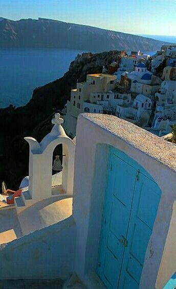 Santorini island. Greece.