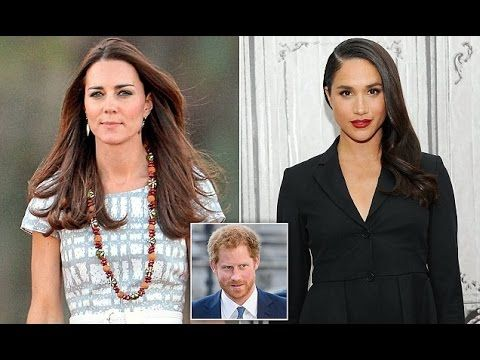 Prince Harry Introduced his Girlfriend Meghan Markle to Kate Middleton a...