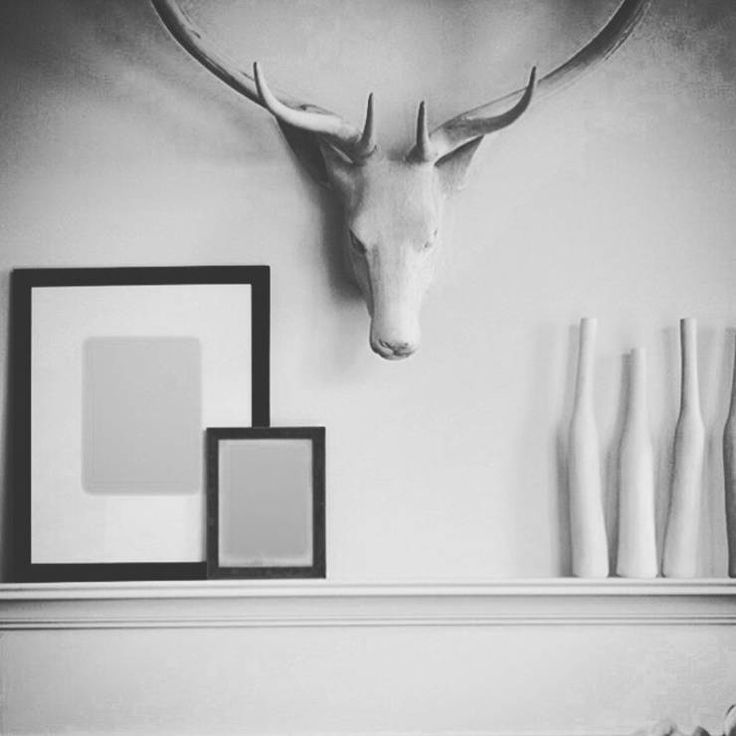 Minimalistic black & white living room decoration by Gracious Luxury Interiors. More cool decor features in this article!