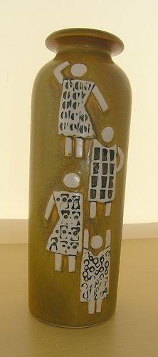 GUSTAVSBERG VASE . DESIGNED BY LISA LARSON