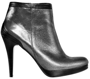 Boot ankle glamour silver