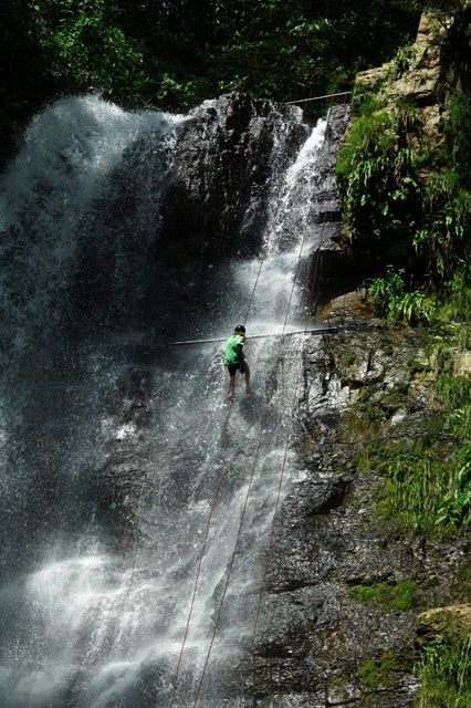 Juan Curí Waterfall, in the Paramo , Santander, Colombia