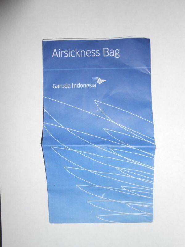 Garuda Indonesia Airsickness Bag
