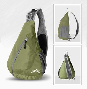Stylish Outdoor Shoulder Sling Backpack Small Hike Run Cross Body Sport Camp Bag