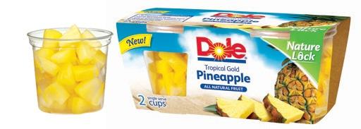 Dole Frozen Pinapple. ITS DELICIOUS!!!!!