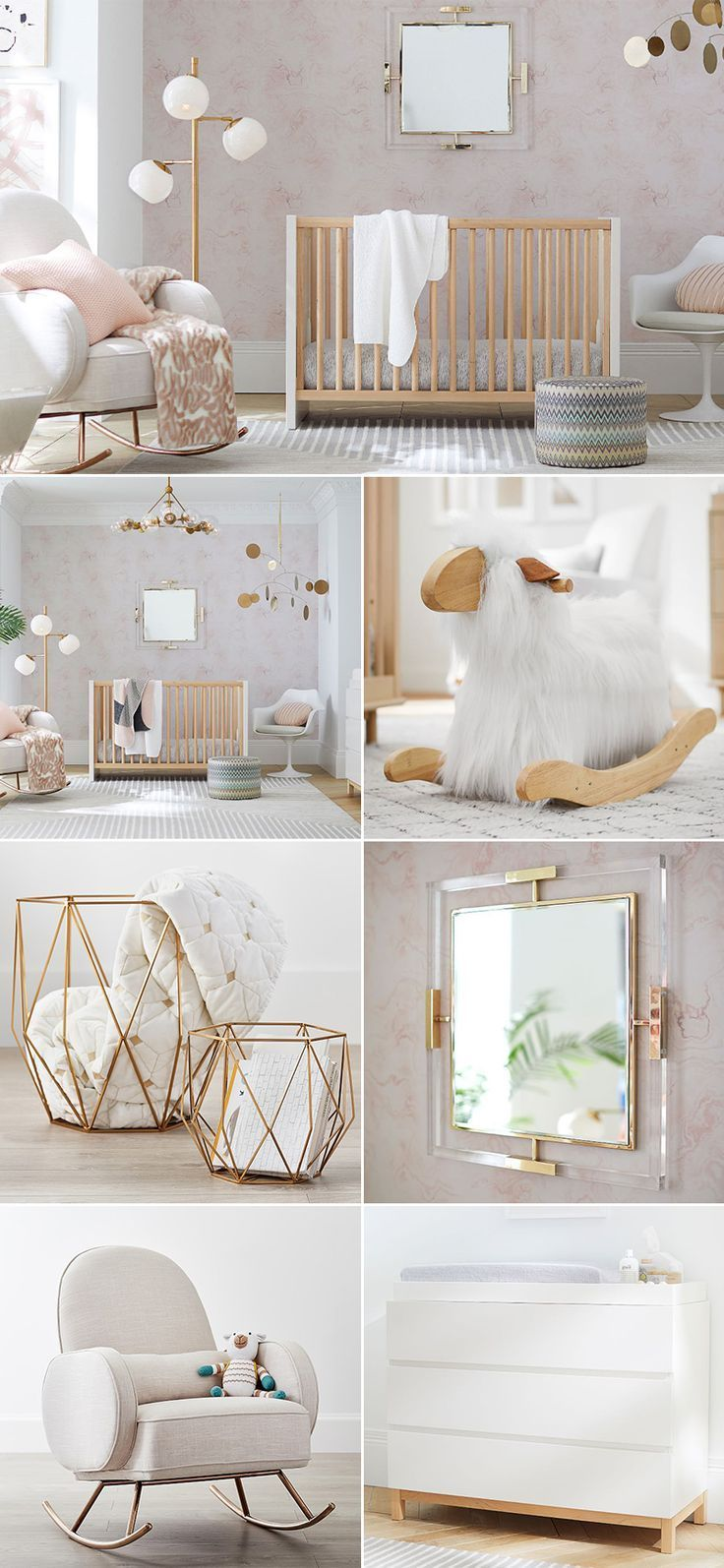 Earthy Nursery Trend 5 Modern Neutral Nursery Room Ideas We Love Neutral Glam Elegant Grey W Neutrale Kinderzimmer Neutrale Babyzimmer Kinderzimmer Ideen