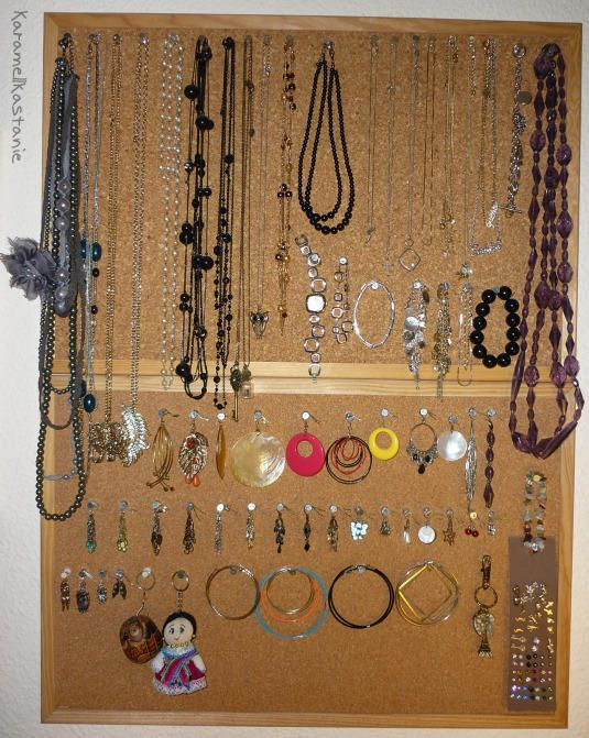 DIY Pinboard for Jewellery – Schmuckpinnwand