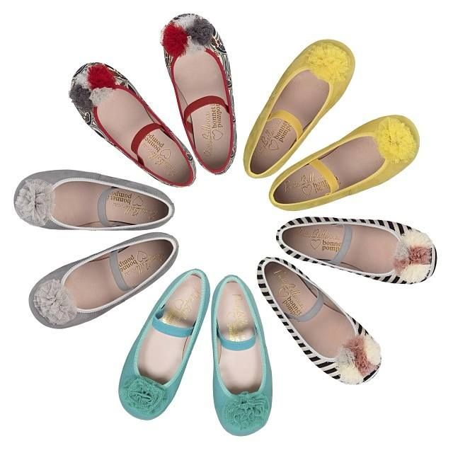 Pretty Ballerinas, The Shoe Perfect for Dressing of Bonnet a Pompon