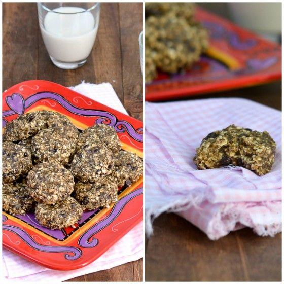 Peanut Butter Chia Choco Chip Cookies {Gluten-Free}