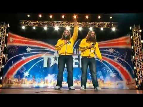 Nelson Twins On Australia's Got Talent 2012 #Comedy #Funny #TheNelsonTwins