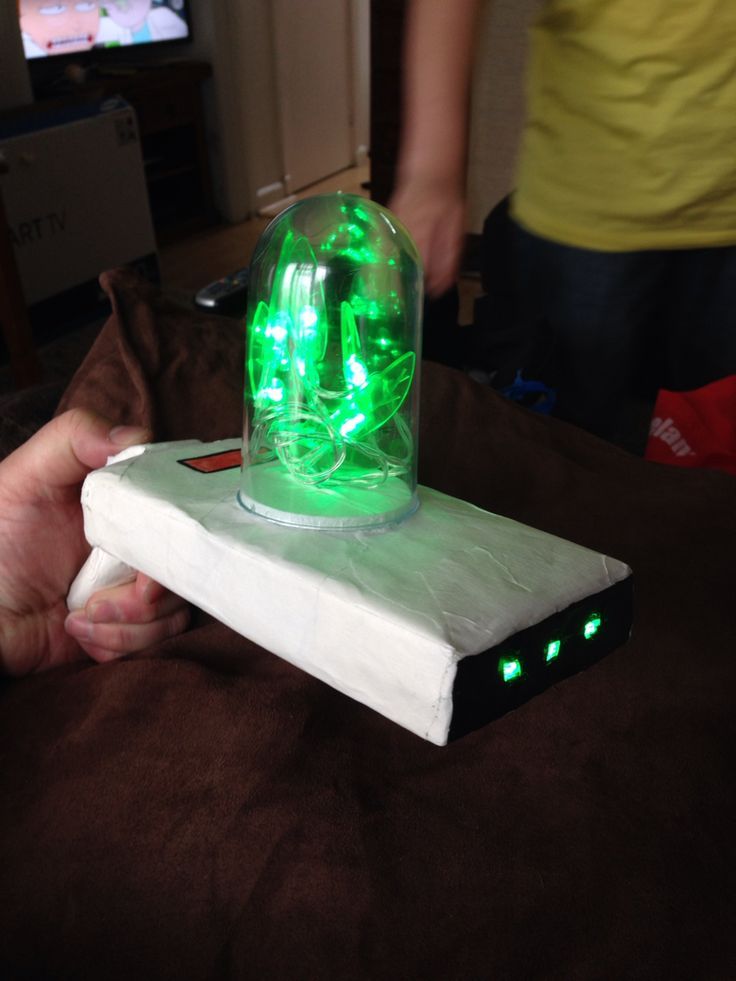 Rick and Morty portal gun we made for MCM Comic Con London ...