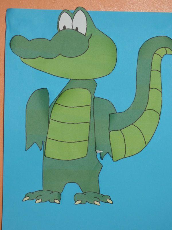 Le Club Voyage autour du monde nous a donné l'opportunité de nous intéresser de nouveau à l'Egypte. Alors, nous avons évoqués le crocodile du Nil.