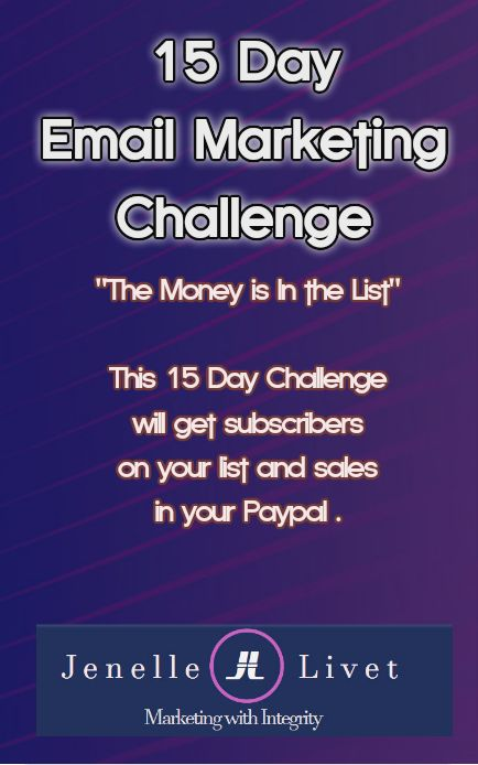 Do you mail your list often? Are you not sure what to write? Take this challenge and learn how to grow your list and keep them engaged