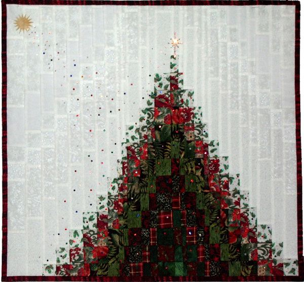 Christmas Stardust bargello pattern by Ann Lauer, Grizzly Gulch Gallery. Such a neat effect!