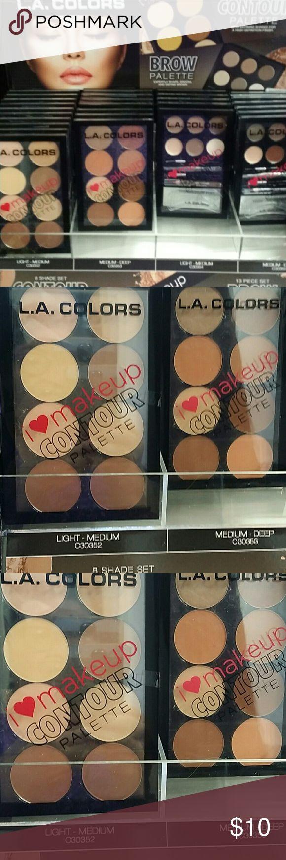 Make up Contour palette L.A. Colors contour palette.  Light - medium or medium-deep. la colors Makeup Bronzer
