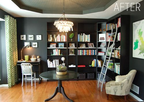Dining Room Turned Library While This Style Isnt My Thing