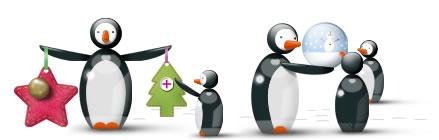 Crafting penguins