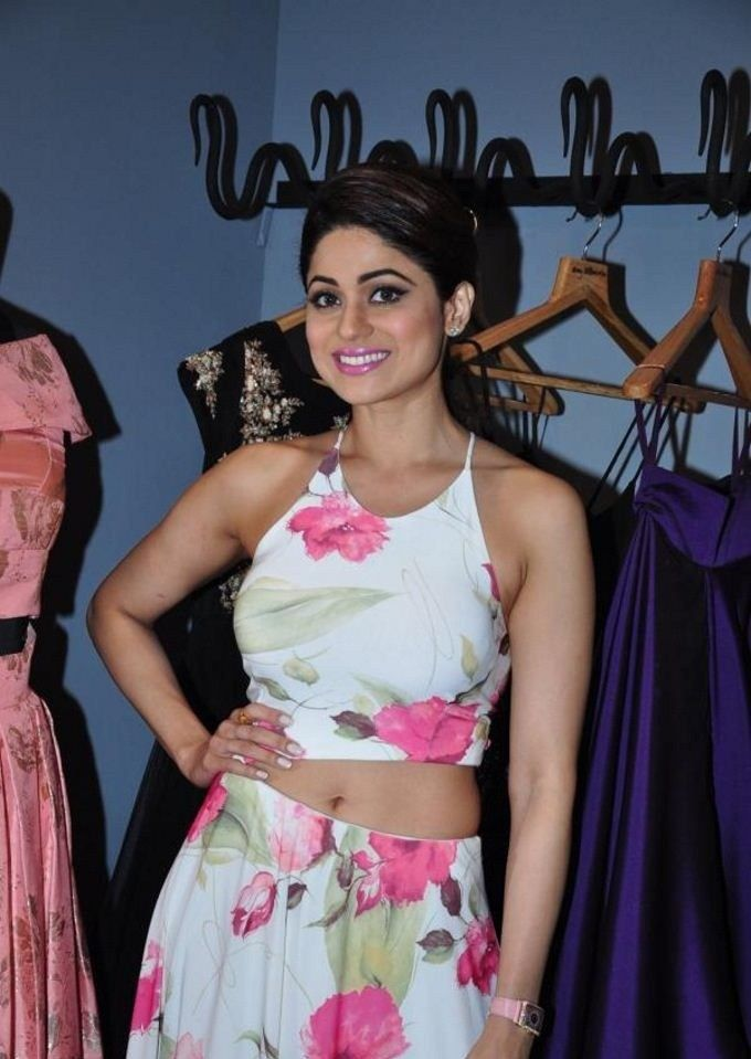 Shamita Shetty Pose at Amy Billimoria store launch | Celeb Hot Stills - http://www.movierog.com/celebrity_gossips/shamita-shetty-pose-at-amy-billimoria-store-launch-celeb-hot-stills/