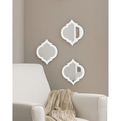 Threshold™ Moroccan Mirror 3 Pack | Target $24.99.