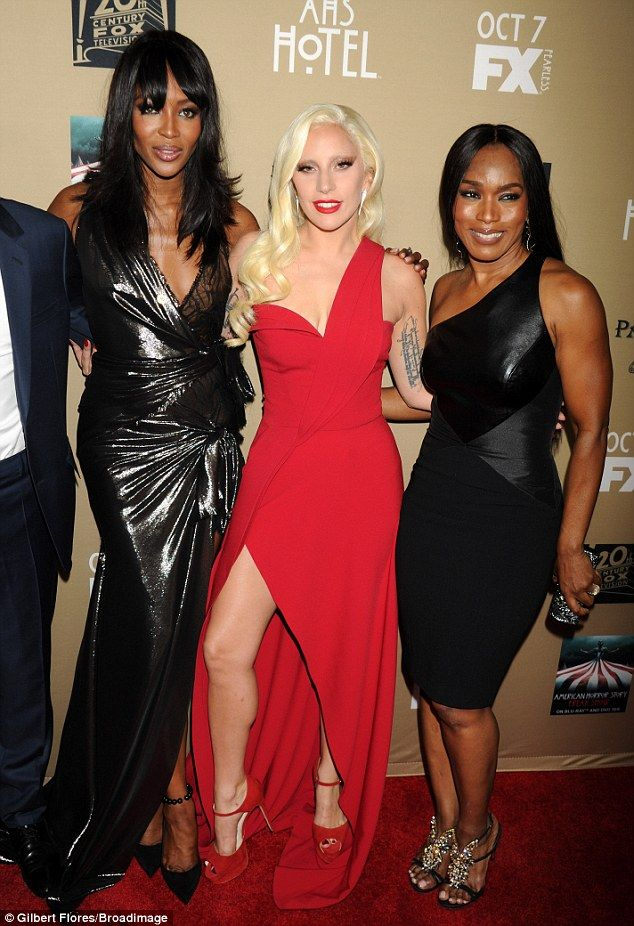 Fabulous:Naomi has recently had a role on Empire last season that saw her facing off with...