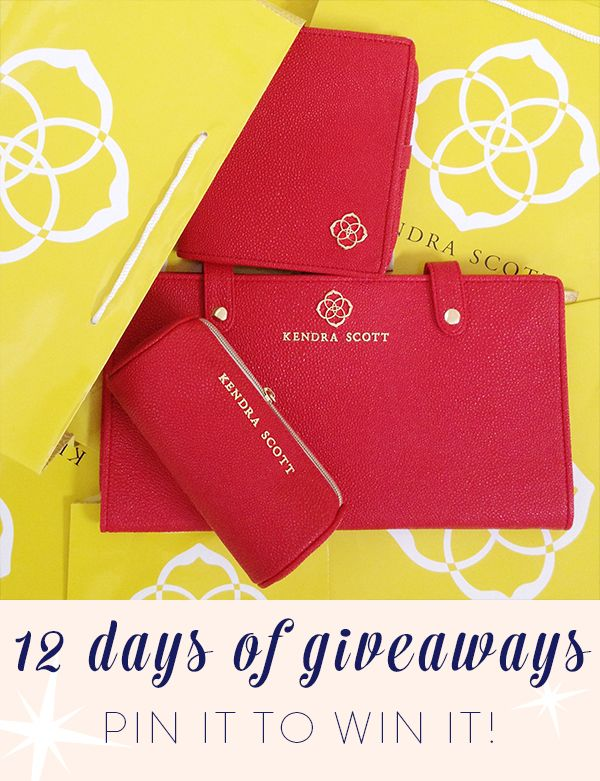 On the 11th day of giveaways... REPIN this image to win a set of our Jewelry Organizers in Red! One lucky winner will be chosen at random. Check back tomorrow for results!