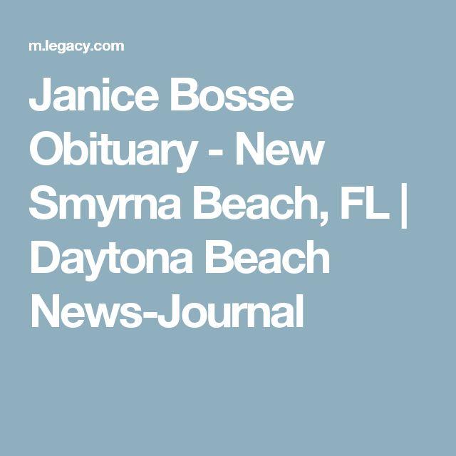 Janice Bosse Obituary - New Smyrna Beach, FL | Daytona Beach News-Journal