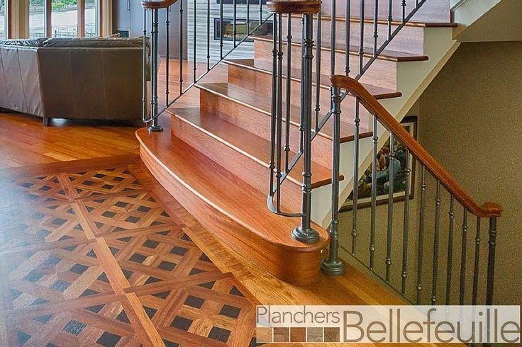 Quel escalier en bois choisir pour votre intérieur? Découvrez notre sélection d'escaliers en bois franc et accessoires.   Plancher Bellefeuille  #escaliers #escalierenbois #installationescaliers #plancherbellefeuille