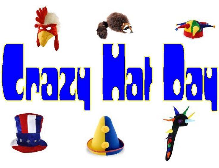 Wacky Hat Cartoons Crazy Hat Day Clip Art Crazy Hat Day