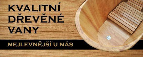 nejlevnější dřevěné vany