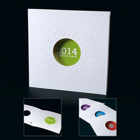 Cartes de voeux entreprise - Green