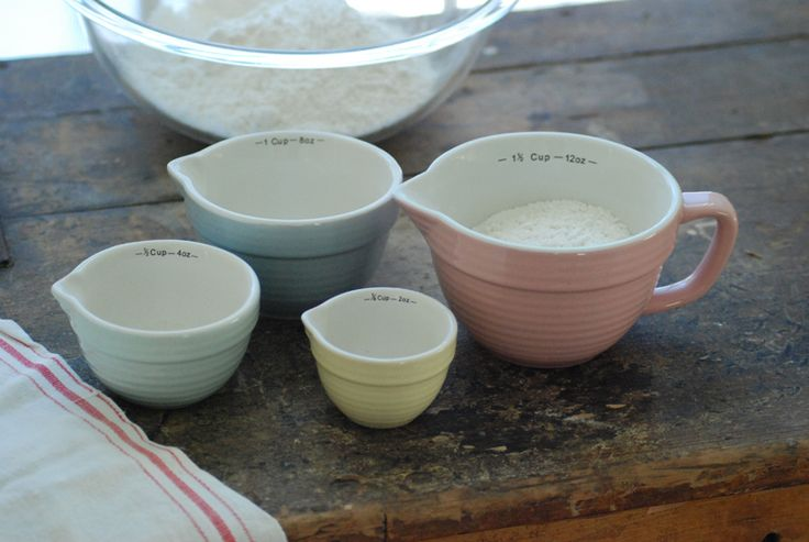 Farmhouse Measuring Cup Set and many other vintage inspired things @ farmhousewares.com