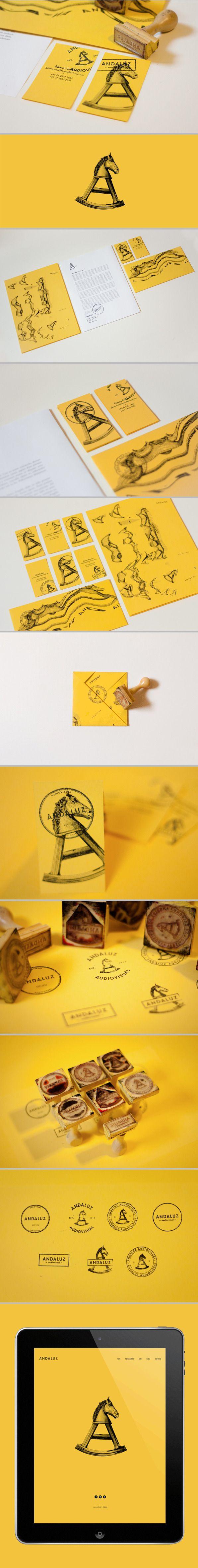 Andaluz identity by Plau | #stationary #corporate #design #corporatedesign #identity #branding #marketing < repinned by www.BlickeDeeler.de | Take a look at www.LogoGestaltung-Hamburg.de