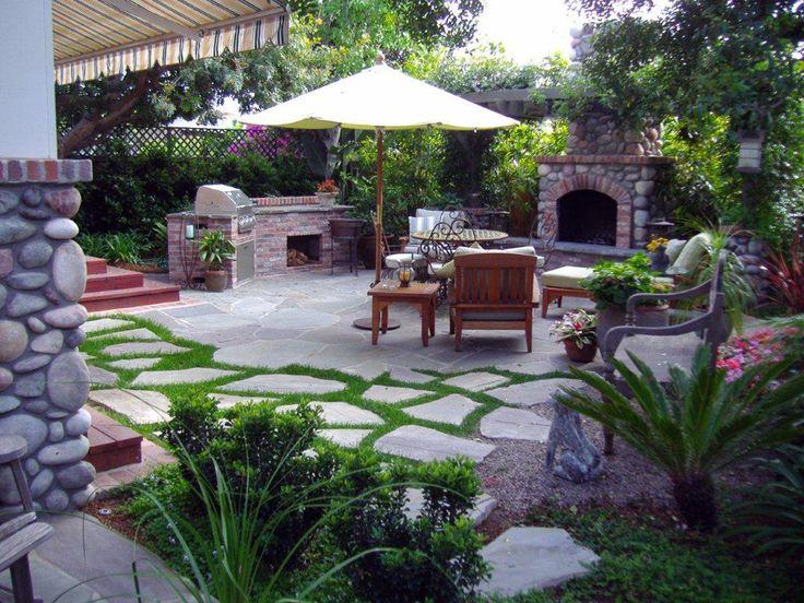 Backyard Bbq Designs | Parsons Design Scapes   Landscape Design Portfolio
