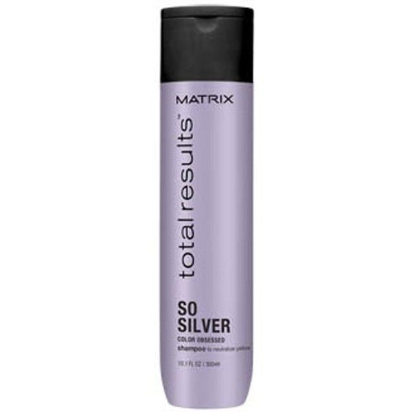 Matrix Biolage Matrix Total Results Color Obsessed So Silver Shampoo... ($15) ❤ liked on Polyvore featuring beauty products, haircare, hair shampoo, silver hair care, matrix biolage and silver hair shampoo