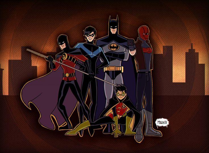 Bat and birds in 2020 | Bat family, Nightwing, Bat cow