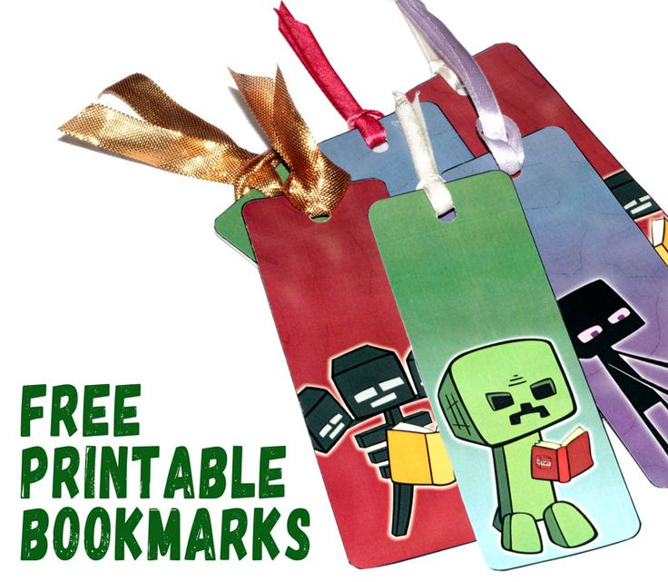 minecraft bookmark template - 1000 ideas about free printable bookmarks on pinterest