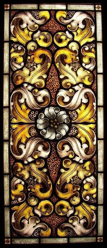 Acanthus William Morris Stained Glass  Getting Kiraku Clothing inspired