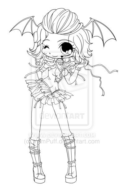 842 best images about coloriages on pinterest chibi gel - Coloriage chibi ...
