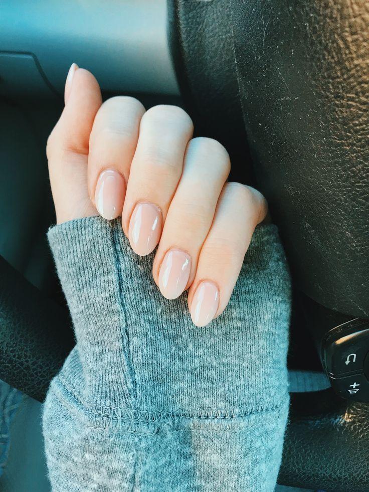 Schaumbad von OPI – Ovale neutrale Nägel #oval #nails #bubblebath #OPI – nail … – Nagel Designs