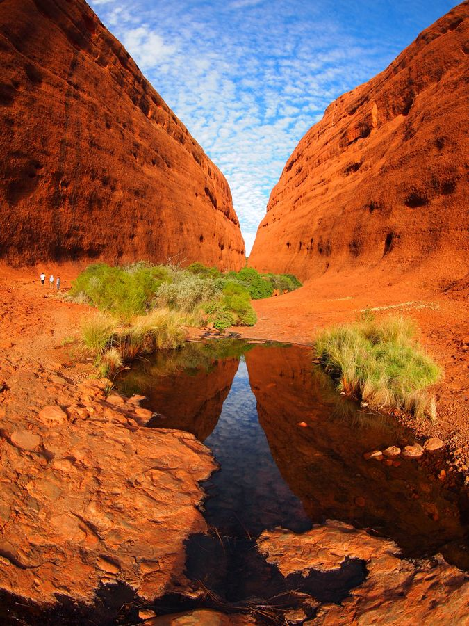 Kings Canyon, Australia.  Walking round the top of this Canyon in August 1998 was terrifying, as scared of heights.  But another beautiful place, in my favourite continent.