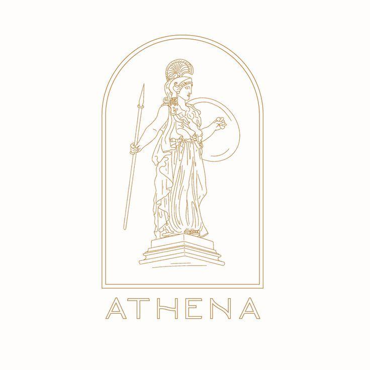 Athena Fit Lizzie Jacklyn Logo Design Inspiration Branding Logo Design Inspiration Logo Design