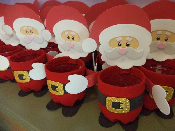 Baños Decorados Navidenos:Manualidades Con Botellas De Plastico Para Navidad
