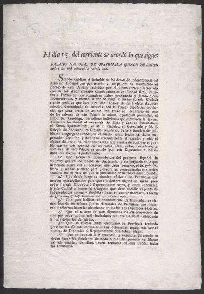Acta de Independencia de Guatemala (1821)