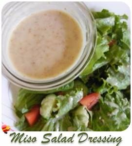 Delicious creamy Asian salad dressing for your greens. Use a few drops of sesame oil and a light soy sauce for this mild tasty dressing recipe.